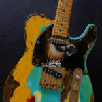 c9e038421fe Fender Telecaster FSR Special Edition Deluxe Ash Seafoam Green over  Butterscotch Heavy Aged Relic (SOLD)