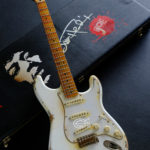 0971c0f20b7 Fender Stratocaster Artist Series Jimi Hendrix Olympic White with Custom  Hardcase Heavy Aged Relic (SOLD)