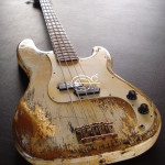 c0c72f9281a Fender Precision Bass Relic Vintage White Gold Edition (SOLD)