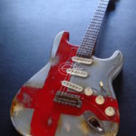 92c6ff01f39 Fender Stratocaster 60th Anniversary Flag of England Aged Relic (SOLD)